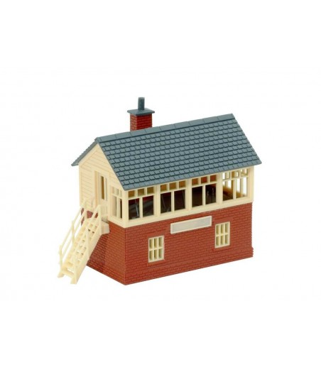 Peco Signal Box, brick built type N Gauge NB-3