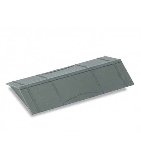 Peco Salt Wagon Roof, black plastic moulding OO Gauge R-36