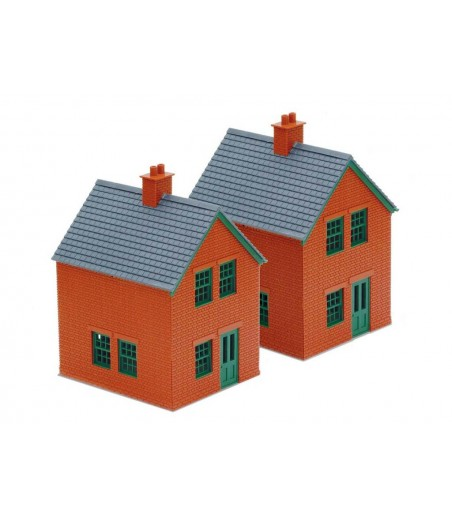 Peco Station Houses, brick type OO/HO Gauge LK-14