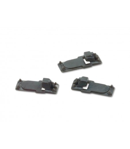 Peco Slide Rail Baseplates, for Code 82 rail All Gauges IL-113