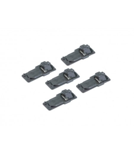Peco Slide Rail Baseplates, for Code 143 rail O Gauge IL-713