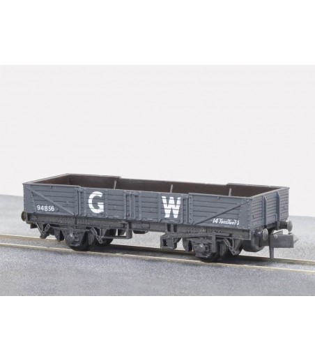 Peco Tube Wagon, GW, dark grey N Gauge NR-7W