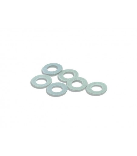 Peco Washers, type OO/6, fibre 1.575mm (1/16in) dia. Hole                                  approx. 50 OO Gauge R-8