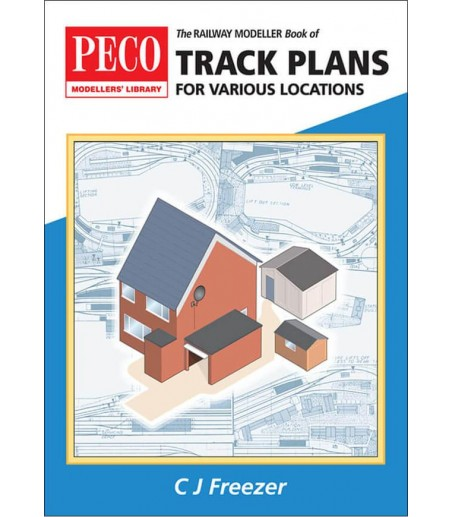 Peco The Railway Modeller Book of Track Plans for various locations All Gauges PB-66