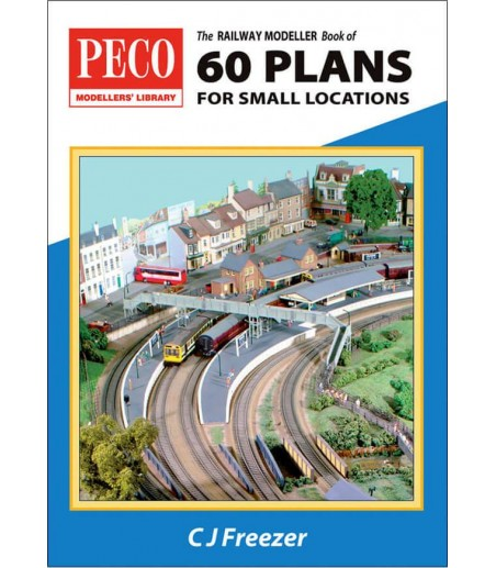 Peco The Railway Modeller Book of 60 Plans for  small locations All Gauges PB-3