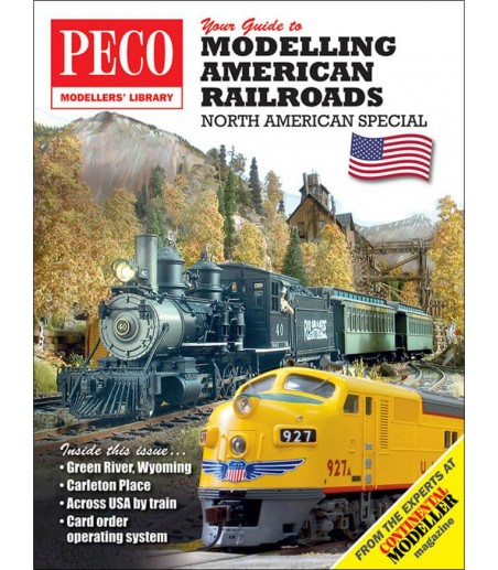 Peco Your Guide To Modelling American Railways All Gauges PM-201