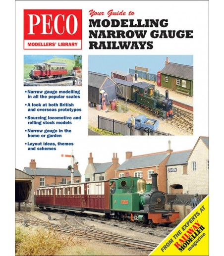 Peco Your Guide To Narrow Gauge Railways All Gauges PM-203