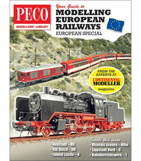 Peco Your Guide to Modelling European Railways All Gauges PM-205
