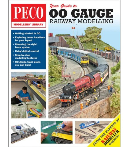 Peco Your Guide to 00 Railwya Modelling All Gauges PM-206