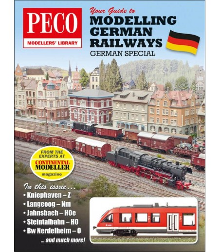 Peco Your Guide to Modelling German Railways All Gauges PM-207