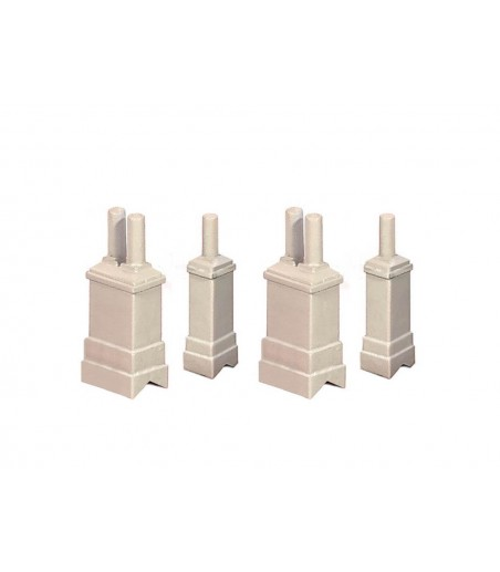 Ratio Chimneys N Gauge 307