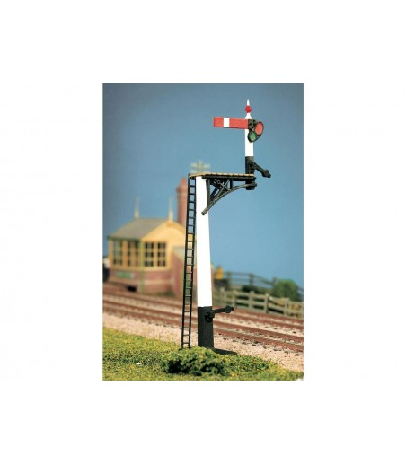 Ratio GWR Square Post (4 Signals inc. Jcn/brackets) All Gauges 466