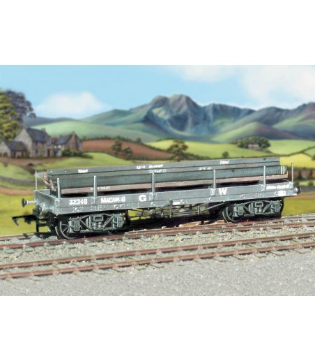 Ratio GWR Bogie 'A' Flat Wagon (with girder load) All Gauges 562