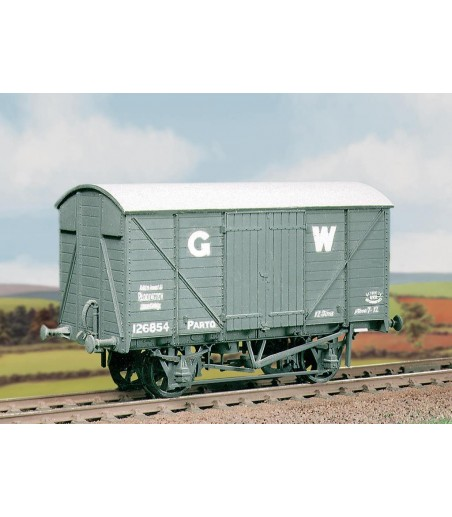 Ratio GWR 12 Ton Ventilated Box Van (M/W) All Gauges 565