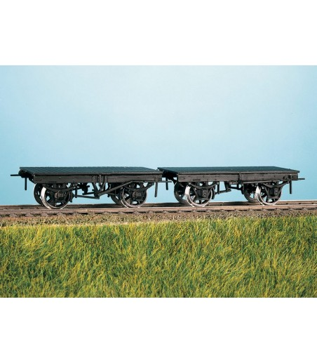Ratio 9' Wheelbase LNWR/LMS Wagon Underframes (2) All Gauges 570