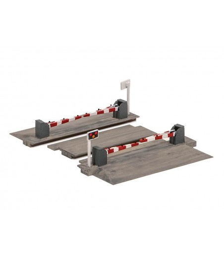 Ratio level Crossing with Barriers N Gauge 235