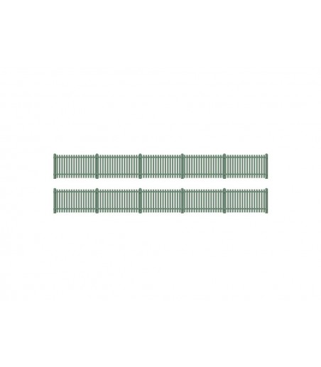 Ratio Picket fencing, green (straight only) OO/HO Gauge 431