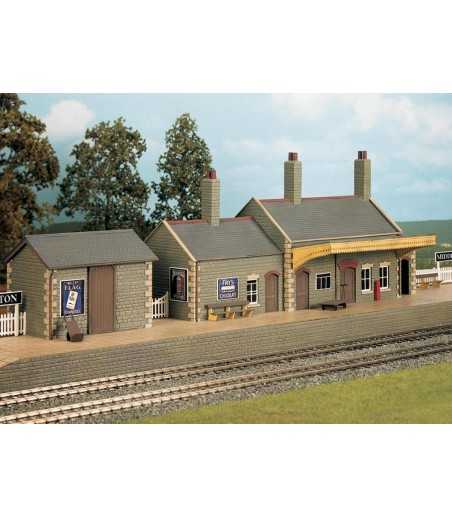 WILLS KITS Country Station Building OO/HO Gauge CK17
