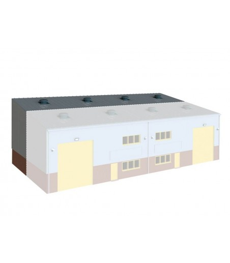 WILLS KITS Industrial / Retail Unit Extension Kit OO Gauge SSM315