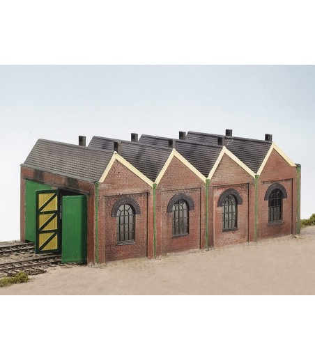WILLS KITS Two Road Engine Shed OO/HO Gauge CK12
