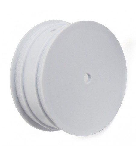 "ASSOCIATED BUGGY WHEEL 12MM HEX 2.2"" 4WD FRONT WHITE"