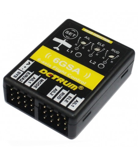 DYNAM 6GSA 6 AXIS FLIGHT CONTROL FOR AIRPLANE