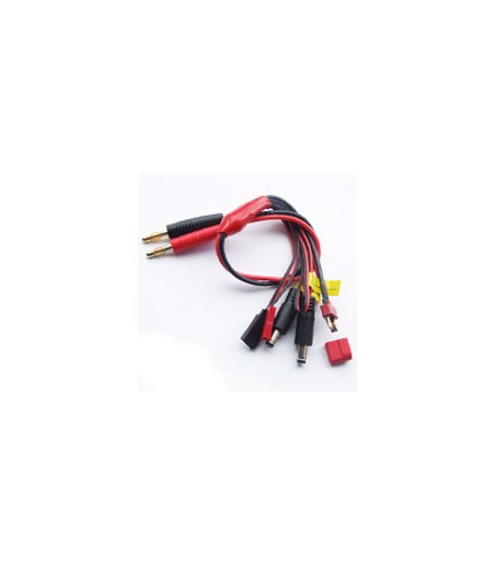 Etronix 4.0mm To Deans/Futaba/Jst/Rx/T X/Extra Wire Pvc Wire