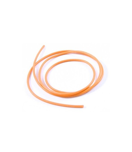 ETRONIX 12swg SILICONE WIRE ORANGE (100cm)