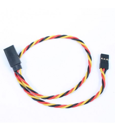 Etronix 30cm 22Awg Jr Twisted Extension Wire