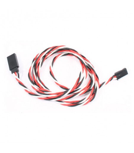 Etronix 120cm 22Awg Futaba Twisted Extension Wire