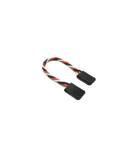 Etronix 15cm 22Awg Futaba Straight Battery Wire