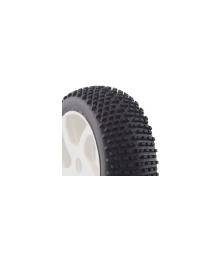 Fastrax 1/8th Buggy Premounted 'H Tread' Tyres on 5 Spoke Wheels