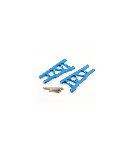FASTRAX TRAXXAS SLASH/STAMPEDE VXL BLUE ALUM FRONT LOWER ARMS
