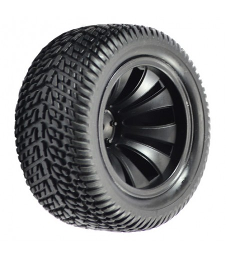 FTX SURGE TRUGGY MOUNTED WHEELS/TYRES (PR)