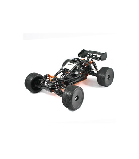 HOBAO HYPER CAGE TRUGGY ELECTRIC ROLLER CHASSIS - BLACK