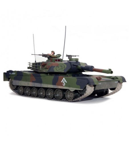 HOBBY ENGINE M1A1 ABRAMS BATTLE TANK - CAMO