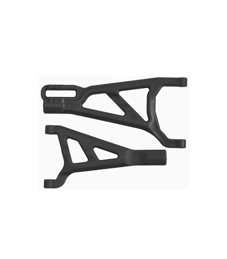 RPM TRAXXAS SUMMIT/REVO FRONT LEFT A-ARMS BLACK