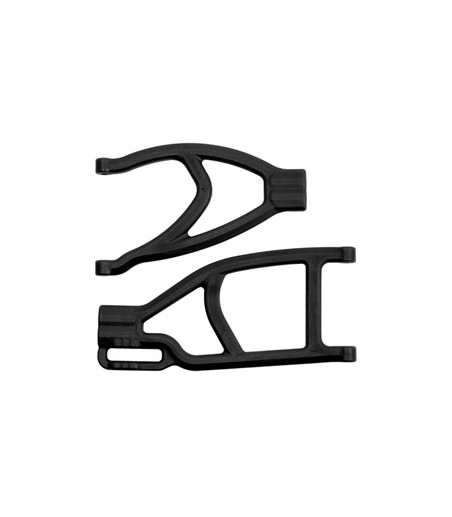 RPM EXTENDED RIGHT REAR A-ARMS FOR TRAXXAS SUMMIT & REVO - BLACK