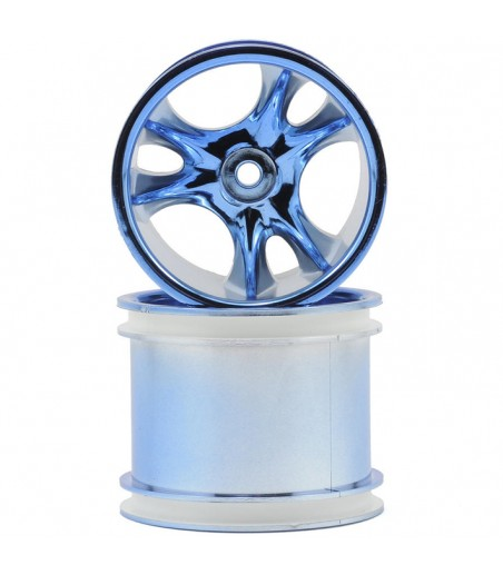RPM Clawz - Front - Blue Chrome - Pair
