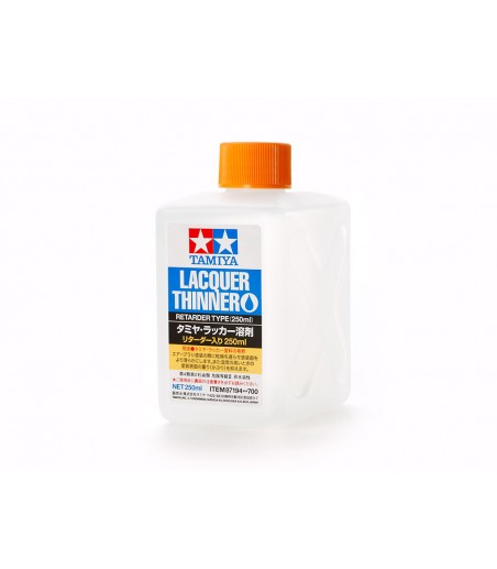 Tamiya LACQUER THINNER/RETARDER 250ML