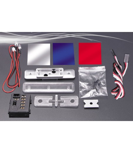 FASTRAX POLICE ROOFLIGHT SET w/LED'S 2