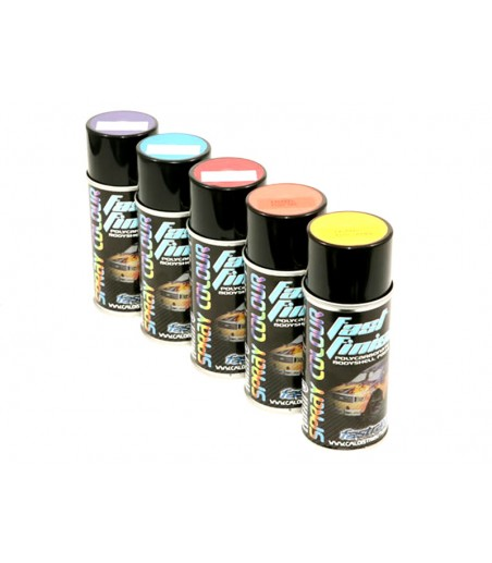 Fastrax Fast Finish Cosmic Glo Red Spray Paint 150ML 2