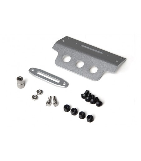 GMADE GS01 FRONT TUBE BUMPER WITH SKID PLATE SILVER