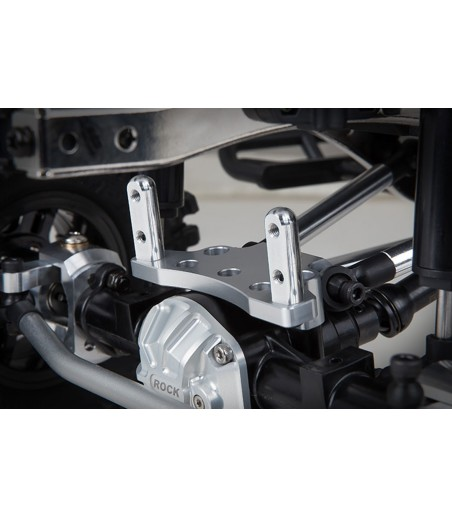 GMADE FRONT UPPER LINK MOUNT (SILVER) FOR GS01 AXLE 2