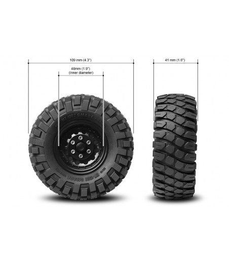 GMADE 1.9 MT 1902 OFF-ROAD TYRES (2) 2