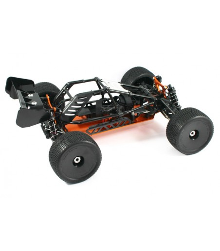 HOBAO HYPER CAGE TRUGGY ELECTRIC ROLLER CHASSIS - BLACK 2