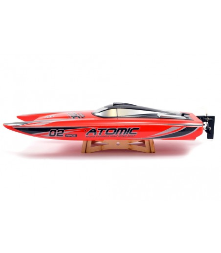 VOLANTEX RACENT ATOMIC 70CM BRUSHLESS RACING BOAT RTR (RED) 2