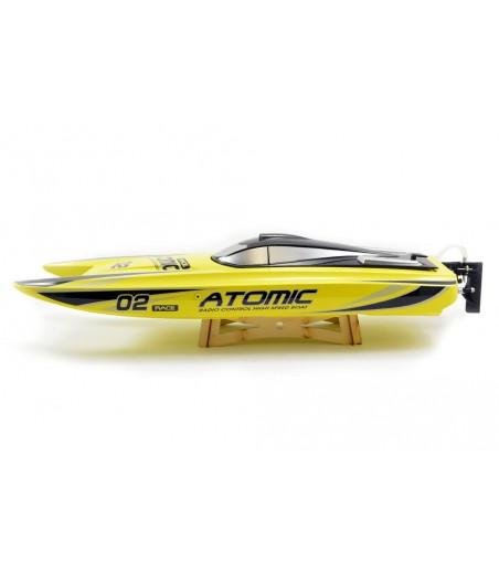 VOLANTEX RACENT ATOMIC 70CM BRUSHLESS RACING BOAT RTR (YELLOW) 2