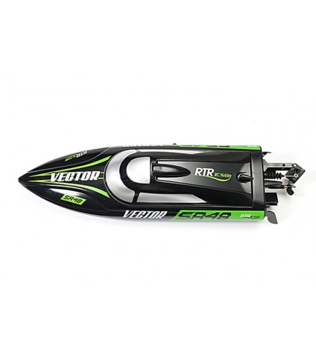 VOLANTEX RACENT VECTOR SR48 BRUSHED BOAT RTR- BLACK 2