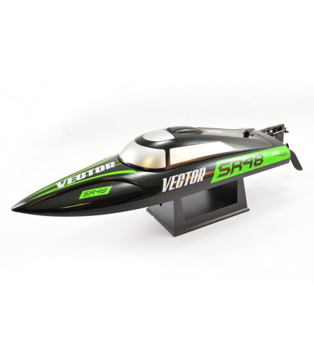 VOLANTEX RACENT VECTOR SR48 BRUSHLESS BOAT RTR- BLACK